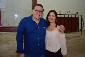 09092018 EN EL TIM.  Ricardo y Malena.