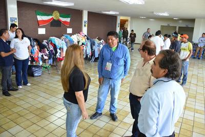 Se instalaron varios centros de acopio en apoyo a los damnificados.