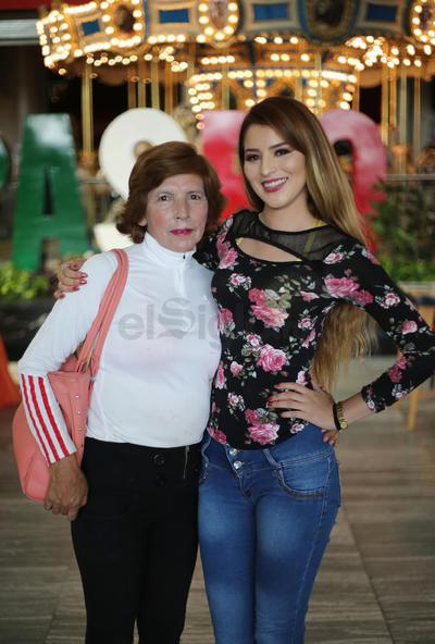 Alondra y Julia.