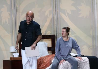 Quienes anoche se presentaron con éxito en el Teatro Ricardo Castro.