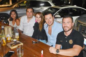 11092018 Andrea, Fernando, Fanny, Manolo y Vicente.