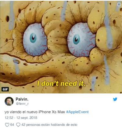 Llega el nuevo iPhone y también los memes