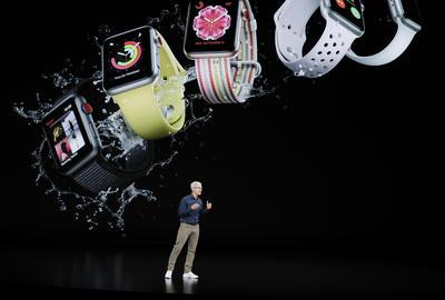Apple anunció la serie 4 de su reloj.