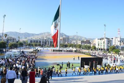 Conmemora Torreón la gesta heroica de la Batalla de Chapultepec