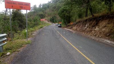 El centro local SCT señala que el mantenimiento en esta rúa le compete a la Secretaría de Comunicaciones y Transportes del Estado (Secope).