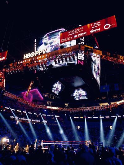 La T-Mobile Arena de Las Vegas, Nevada, fue la sede del combate.