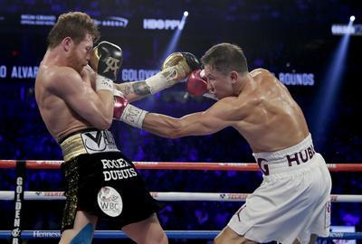 Fue un duelo de potencia, técnico, pero mayormente agresivo, con choques de cabeza y duros golpes al rostro que no doblegaron a los gladiadores del 15 de septiembre.