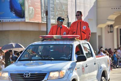 Topos y elementos de Protección Civil se sumaron.