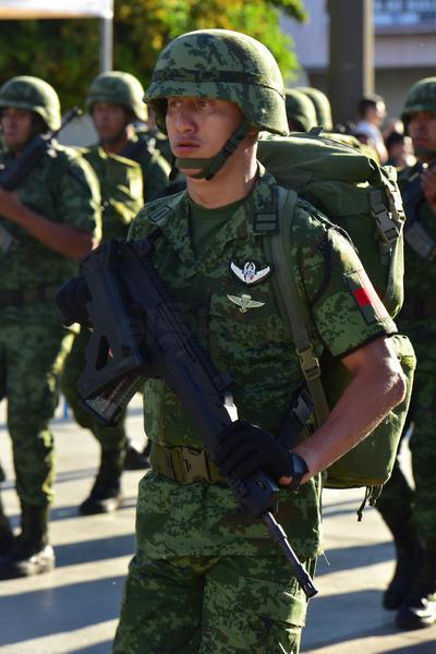 Elementos del Ejército, del Cuerpo de Bomberos, Protección Civil, Tránsito y Vialidad, así como de corporaciones de seguridad local, recorrieron la avenida Matamoros ante los ojos de los ciudadanos que acudieron a celebrar el orgullo de ser mexicanos en este 208 aniversario del inicio del movimiento de Independencia.