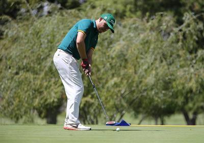 Grandes golpes se vivieron en el Torneo Patrio de Golf del Club Campestre de Durango.
