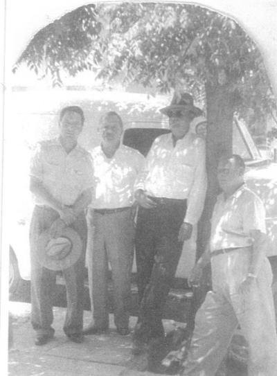 16092018 Lauro Félix, Tranquilino Martínez (f) y Samuel Castillo (f), hace 70 años.