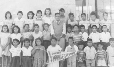 16092018 Escuela Dr. Habib Estefano en 1950.