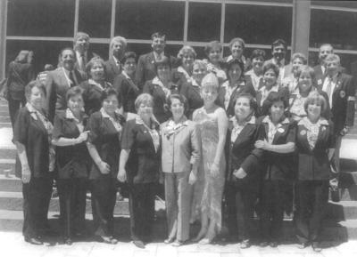 16092018 Grupo Club de Leones de Goméz Palacio, Durango, hace algunos lustros.