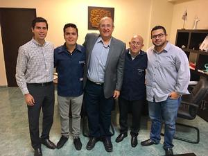 16092018 Edgar Manuel Muñoz, Jesús Aguirre Quiñones, Rodolfo Parada, Ricardo Martínez y Nelson Padrón.