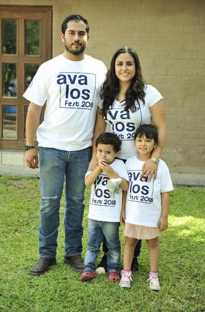 17092018 EN FAMILIA.  Shannon, Argenis, Maga y Nico.