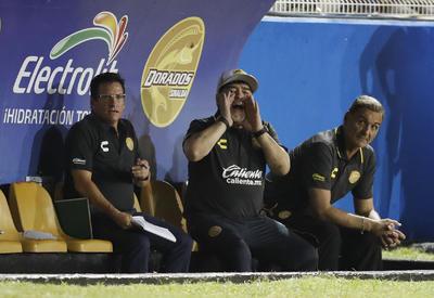 Fue el hat-trick de Vinicio Angulo (59', 51' y 75'), así como el tanto de Alonso Escoboza al 85', que los asistentes del Estadio Banorte celebraron el inicio de la era Maradona.