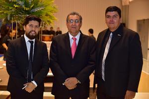 Eduardo, Antonio e Hipólito
