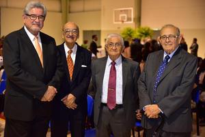 Fernando, Sergio, José Rubén y Ramón