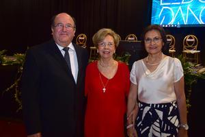 Luis Arturo Dávila, Aurorita Máynez y Claudia Máynez