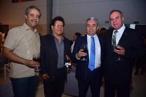 Ricardo, Avelino, Roberto y Rafael
