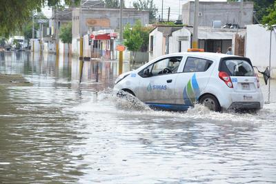 Extraoficialmente se indicó que se recibieron más de 22 milímetros de precipitación.