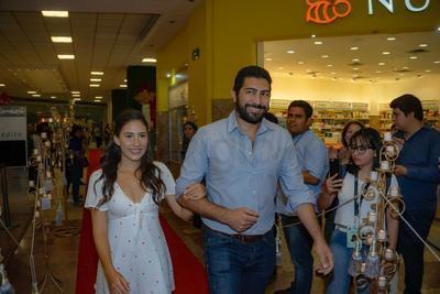El actor Ianis Guerrero estuvo presente.