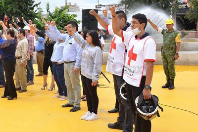 Se realizó en el marco del Día Nacional de Protección Civil.