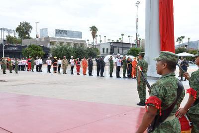 Participaron elementos del Ejército, Protección Civil, Cruz Roja y Policía Municipal.