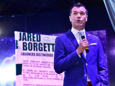 """Jared fue galardonado como """"Lagunero Distinguido"""" en la Feria de Torreón."""
