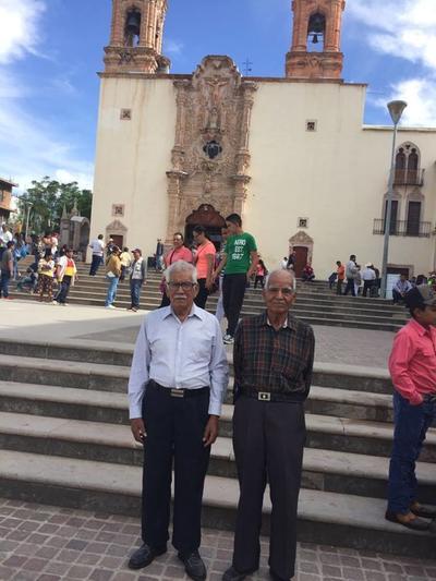 20092018 Rodolfo y Jaime Uribe Reyes en una visita a Plateros