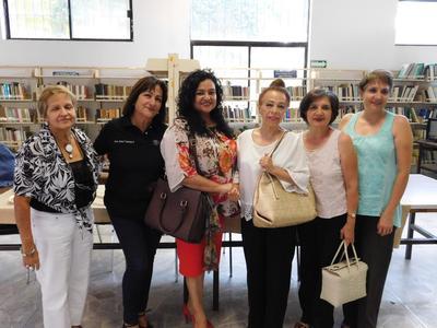 20092018 Yadira Ortega Molina, Rosa Ma. Hernández, Norma Hernández, Reyna Ceniceros e Irma Leyva Ramos.