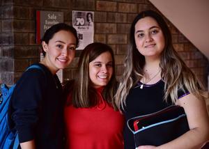 20092018 Luisa Gonzalez, Anilú Limón y Karen Salinas.