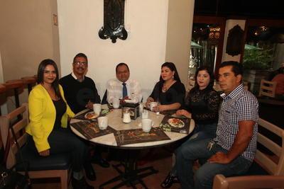 Familia Agüero y amigos.