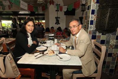 Adriana y Jaime García.