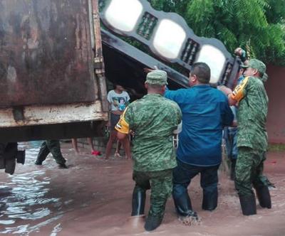 La Secretaría de Gobernación (Segob) ya declaró la emergencia en 11 municipios de Sinaloa.