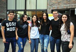 21092018 Marcos, Frida, Dora, Katia, Flavio y Valeria.
