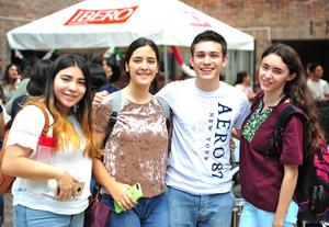 21092018 Anahí, Pily, Richy y Stephanie.