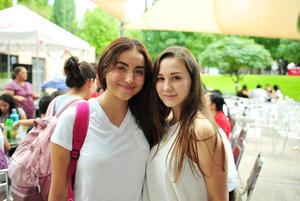 21092018 Marita Hamdan y Sofía Díaz Flores.