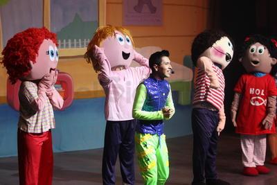 Los personajes inspirados en la popular línea de juguetes 'Distroller' se presentaron en el Teatro Victoria con un espectáculo para chicos y grandes lleno de música y consejos para llevar una vida más sana y en armonía.