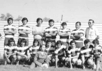 23092018 Equipo El Descontón Tres Cruces en 1972.