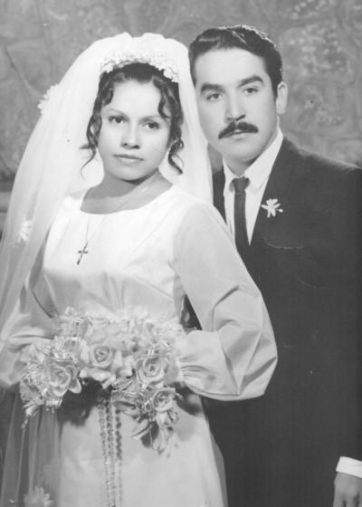 23092018 María de los Ángeles Saucedo Rivera y Jesús Gallegos Esparza el 26 de septiembre.