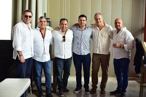 24092018 Salvador, Tito, Memo, Beto, Miguel y Bitar.