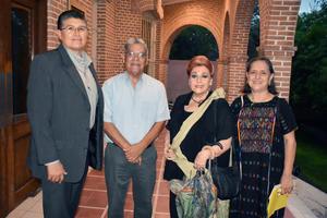 22092018 Gerardo, Miguel, Licha y Silvia.