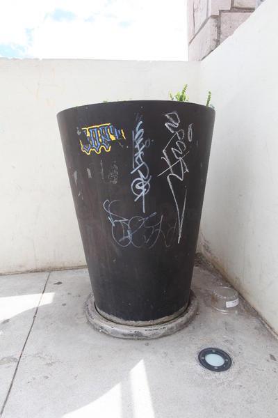 Vandalismo. El graffiti es una de las formas destructivas registradas.