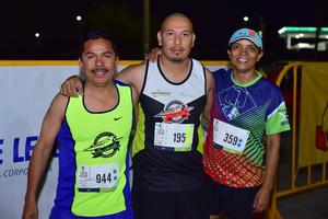 25092018 CORREDORES.  Fernando, Javier y Lorenza.