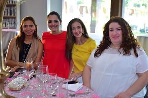 25092018 Amparo, Sol, Pilar, Ileana y María Esther.