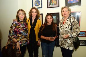 25092018 María Esther, Lina, Carmen y Cuca.