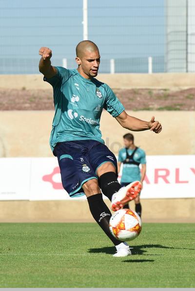 El brasileño Matheus Doria.