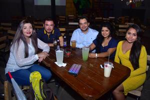 26092018 Rita, Luis, Jesús, Almendra y Miriam.