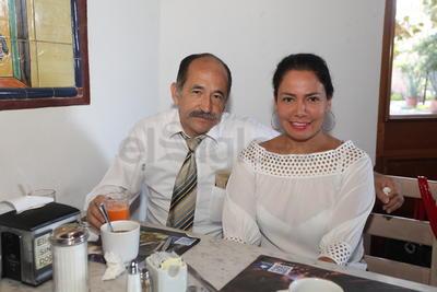 Jorge Arturo Domínguez y Rosaelba Molina.